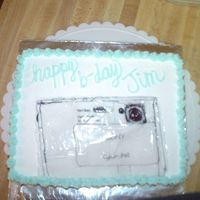 Camera this was a birthday cake for the director of digital cameras at my work