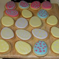 Eastercookies_003_2Cc.jpg Third time trying Royal Icing. I love it!! Even with the occasional bunny nose air bubble!