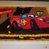 Brandon's 3Rd Birthday This is the cake I made my son for his 3rd birthday. He loves Cars the movie.
