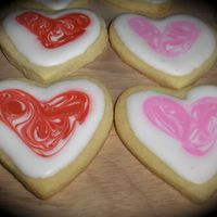 Valentine Cookies NFSC and Antonia's icing