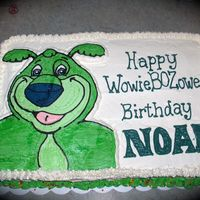 Boz Birthday   For my son's birthday. Boz the bear. All Buttercream.