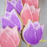 Easter Tulips These were made using Penney McConnell's recipe (dough & RI) (thanks Pam!! These are the BEST!!) According to something I read, &#...