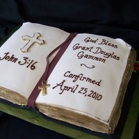 Grant's Confirmation Cake