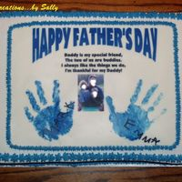Father's Day Cake For Daddy