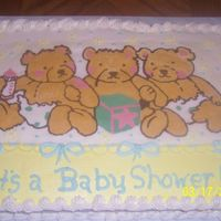 Baby Shower This is BCT that I made for my daughter's preschool teacher's formal baby shower. I used her invitation for the transfer. It was...
