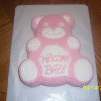 Care Bear Birthday Cake This is the cake that I did for my daughter's 3rd birthday to take to her preschool.