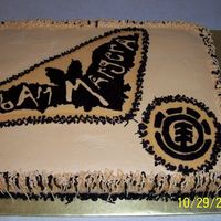 Bam Margera Skateboarding Cake My son's bestfriend is a skateboarder and could not think of anything to do. I went on line to the Bam Margera website (he is a big...