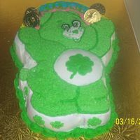 St. Patrick's Day Care Bear This is a chake that I did for my daughter's St. Patrick's Day party at preschool.