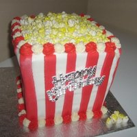 Popcorn Cake Popcorn! Need I say more... :)