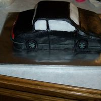 Car Birthday Cake Ok, here is my version of a 1997 chevy cougar! lol I know it looks sad as a cougar but the boy that received this for his birthday said he...