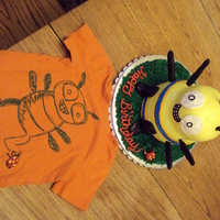 Doodle Bug A friend wanted me to re-create the Doodle bug drawing on her sons' favorite shirt. He was estatic to see it brought out on his...