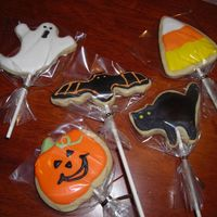 Halloween Cookie Here is another view of the cookie cut-out. Thanks for looking.
