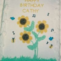 Singing Flowers From Wilton Cake book