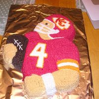 Kansas City Chiefs I made this for my hubby's boss who is a HUGE fan.