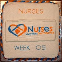 Nurses Week 2005 This is a Cake I did for nurses week May 6-12, My wife works as an ER Nurse so I sent this cake in with her to share with the other nurses...