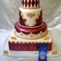 Josephine  I named this cake Josephine because it is so royal :) This is my state fair wedding cake entry and I won first place. Lots and lots of...
