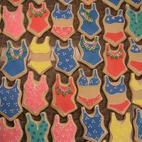 Pool Party   Penney's cookies with Penney's RI. Time for a pool party!