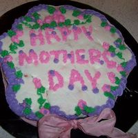 Mother's Day Cupcake Cake
