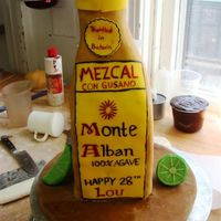 Mezcal Birthday Cake