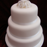 Purity Just a dummy as I had no experience of wedding cakes. Nothing fancy, just pure white