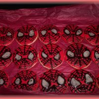Spiderman_Cookies.jpg My DH was a real dear in helping me with these. We got a bit carried away and attempted to do the whites of the eyes while our outlines...