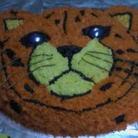 Cheetah Birthday Cake I made this cake for the little girl in our neighborhood she was turing 11. She loves Cheetahs.