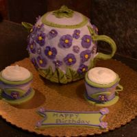 Teapot This is my first attempt at a teapot. It's a copy of a teapot I'm giving my mother in law. I hope she enjoys it!