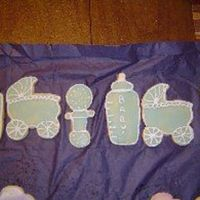 Baby Items Experimenting with new cutters.
