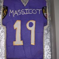 Ravens Jersey   Ravens jersey for a 19 year old birthday!