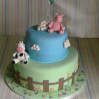 Farm Birthday Cake This was just a quickly put together one for my daughters second birthday, I had lots of fun making it, apologies for the blurred picture...