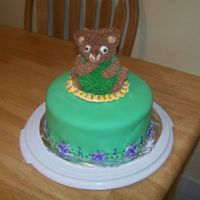 Corduroy The Bear Cake
