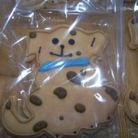 Baby Shower Favor Sugar Cookie w/ Cookie Icing and Royal Icing