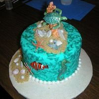 Alternate View Of Under The Sea Cake Just so you can get a better view of my take on Nemo!
