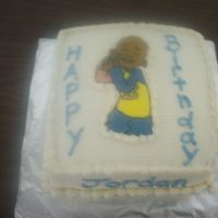 Little Bill Cake For Jordan This was for my 5 year old. He loves Little Bill. Rainbow cake, buttercream with FBCT