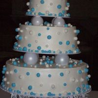 Practice Cake This was a practice cake for my nephews wedding.