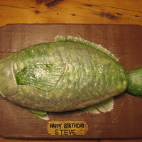 Mounted Fish Cake