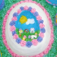 Panoramic Easter Egg Cake