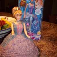 Cinderella Cake This is my first attempt making a Cinderella. I have made other doll cakes but used fondant and this was made with butter cream. I had a...