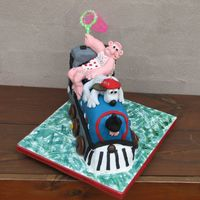 Wallace And Gromit  Catch the evil penguin Gromit (Wallace & Gromit 'The Wrong Trousers' episode) This was my 4th cake (my 2nd 3D cake - I made...