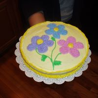 This Is A Cake I Made While Taking Wilton Course I