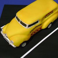 Fj Holden Castlemaine XXXX (a brand of beer in the state of Queensland, Australia) themed FJ Holden Station Wagon cake. Made entirely out of home...
