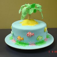 Desert Island Cake Found little jelly fish at a confectionary wholesaler I visited. Then I found this wonderful website and am completely inspired by all of...