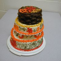Fall Demo I had to do an oral presentation in English, and decided to do it for cake decorating. The class did NOT object, especially since I shared...