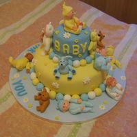 Baby Cake Another view of the same cake