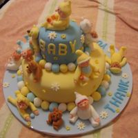 Baby Cake This cake was for the staff of the NICU ward who looked after my grandson for 9 weeks.