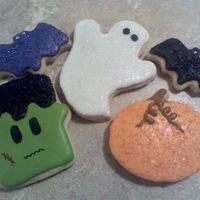 Halloween Cookies My sugar cookies with RI. Just practice for the upcoming holiday. TFL