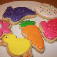 Easter Cookies Just my sugar cookies with RI done for the holidays. Thanks to all for their insperation. TFL