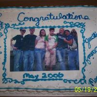 Class Of 2006 First time using an edible image photo. This is the whole graduating class.