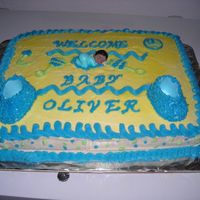 Cakes_And_Graduation_020.jpg  This is a cake that I did for a co worker of mine it is my first baby shower cake that I have done. It is a yellow cake with buttercream...