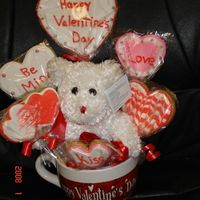 Teddy Bear Bouquet This is a protocol bouquet that I am planning to sell for Valentine's Day just wanted to get the word out to people and I already have...